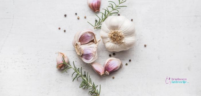 Beli luk, nezaobilazan u zdravoj ishrani