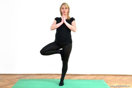 yoga-i-trudnica-vezba-balansa–drvo
