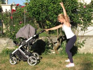 """Predstavljamo Vam kreativnu mamu Maju Štetin koja je nakon svoje trudnoće, osmislila program vežbi za mame i bebe """"Mama u formi""""."""