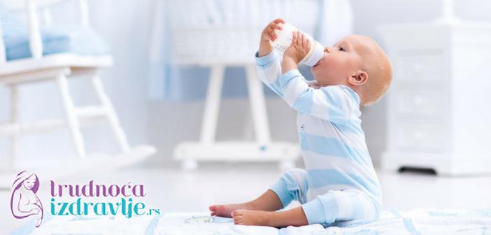 Pedijatar gastroenterolog ukazuje koji su alergijski rizici kod odojčeta i koje adaptirane formule u takvim slučajevima birati ukoliko se ne hrani majčinim mlekom.