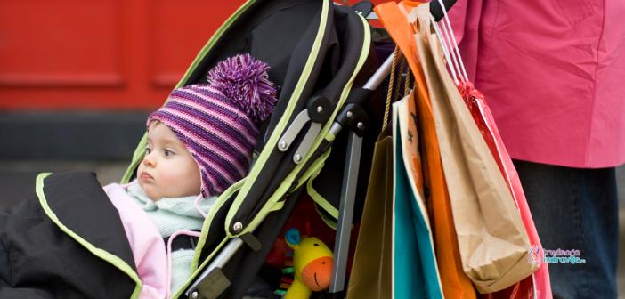 Kako izabrati dečija kolica za mališana