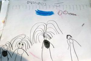 Sofija Lontić nacrtala je svoju porodicu