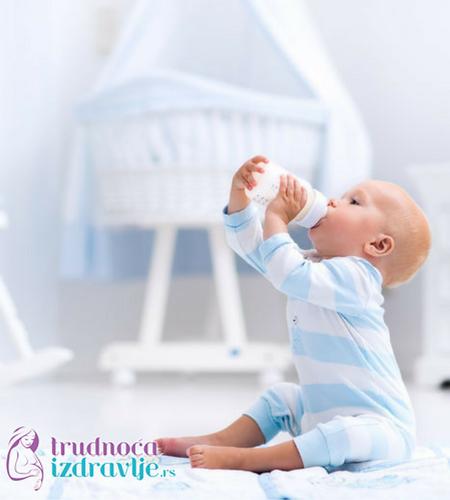 beba i flašica - adaptirane formule
