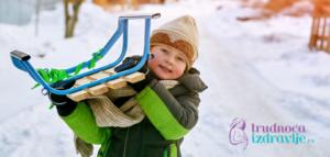 Kako obući dete zimi, da li ga izvoditi napolje, da li roditelji greše oko nege, ishrane, da li će dete tokom zime biti ćešće bolesno…