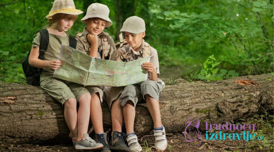Boravak deteta na planini pogoduje zdravlju ali nudi i niz drugih benefita za dete.