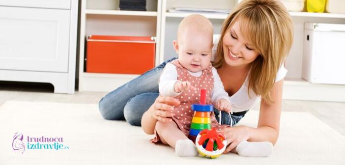 Ako želimo do maksimuma da razvijemo kapacitete svoje bebe, moramo joj pomoći da koristiti sve moždane vijuge koje su joj podarene rođenjem.