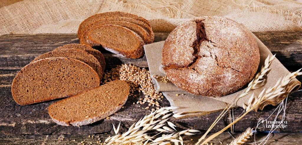 Hleb od Integralnih Zrna Žita