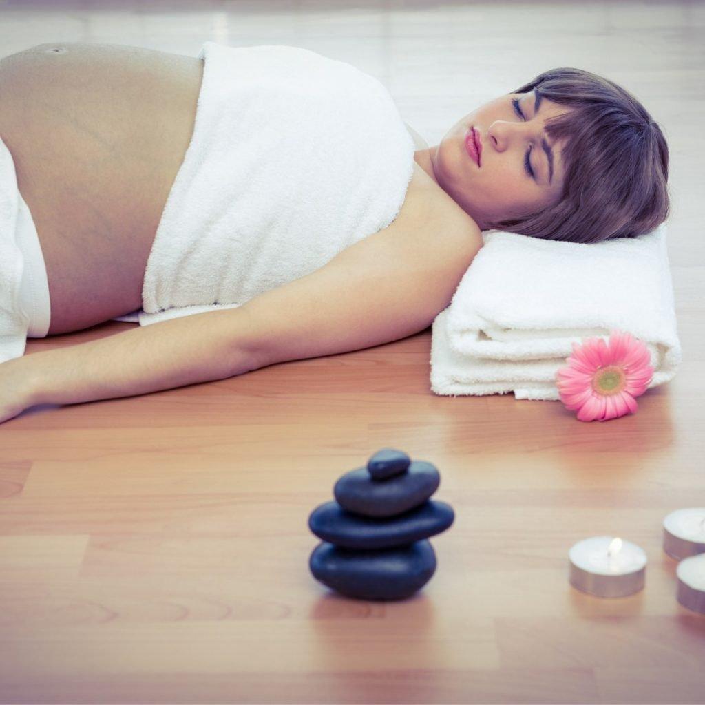 Trudnica se relaksira 2