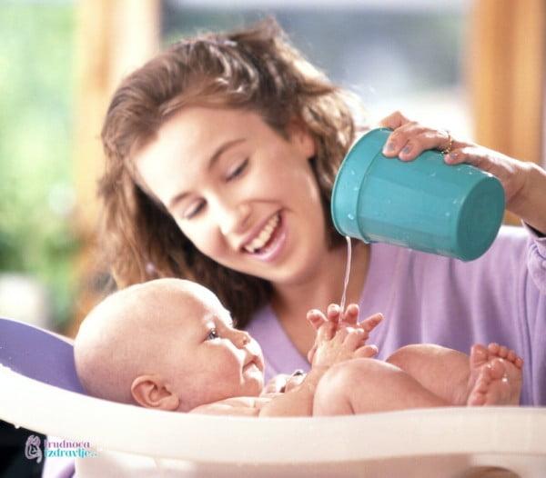Potreban Pribor za Kupanje i Negu Bebe