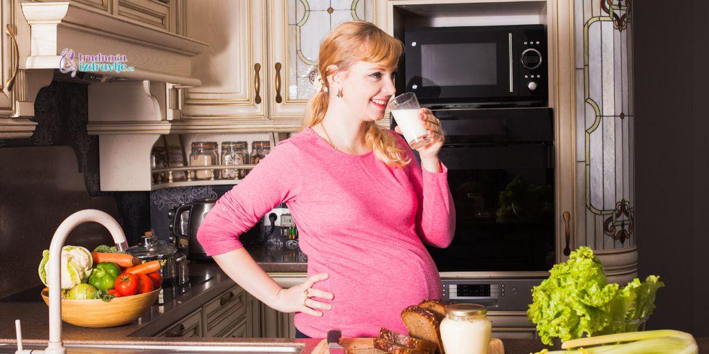 jogurt,kiselo mleko i kefir u ishrani trudnice