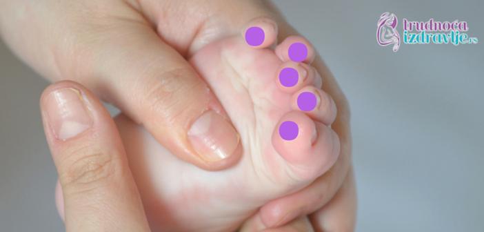 Masaža bebe – Primena Refleksologije Kao Pomoć Bebi Pri Nicanju Zubića (1)