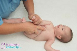 Vežbe za Najraniji Uzrast Bebe