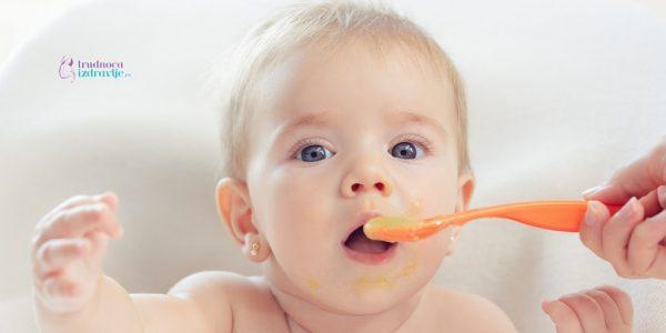 kada u ishranu odojčeta treba uvesti nemlečnu hranu