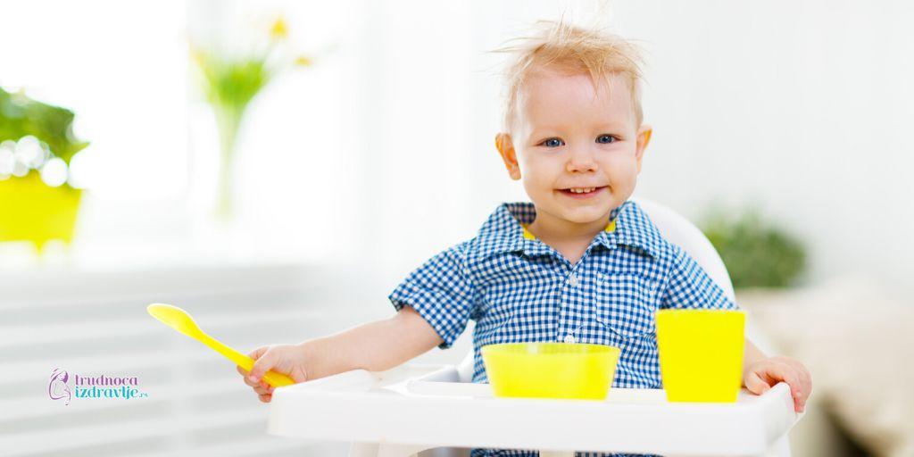 redosled uvođenja novih namirnica u ishranu bebe