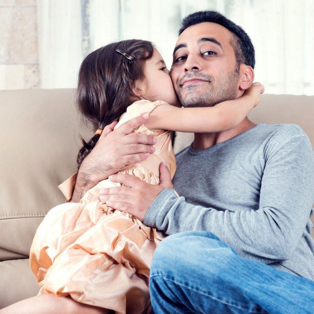 Kad se dete više obraduje tati (3)
