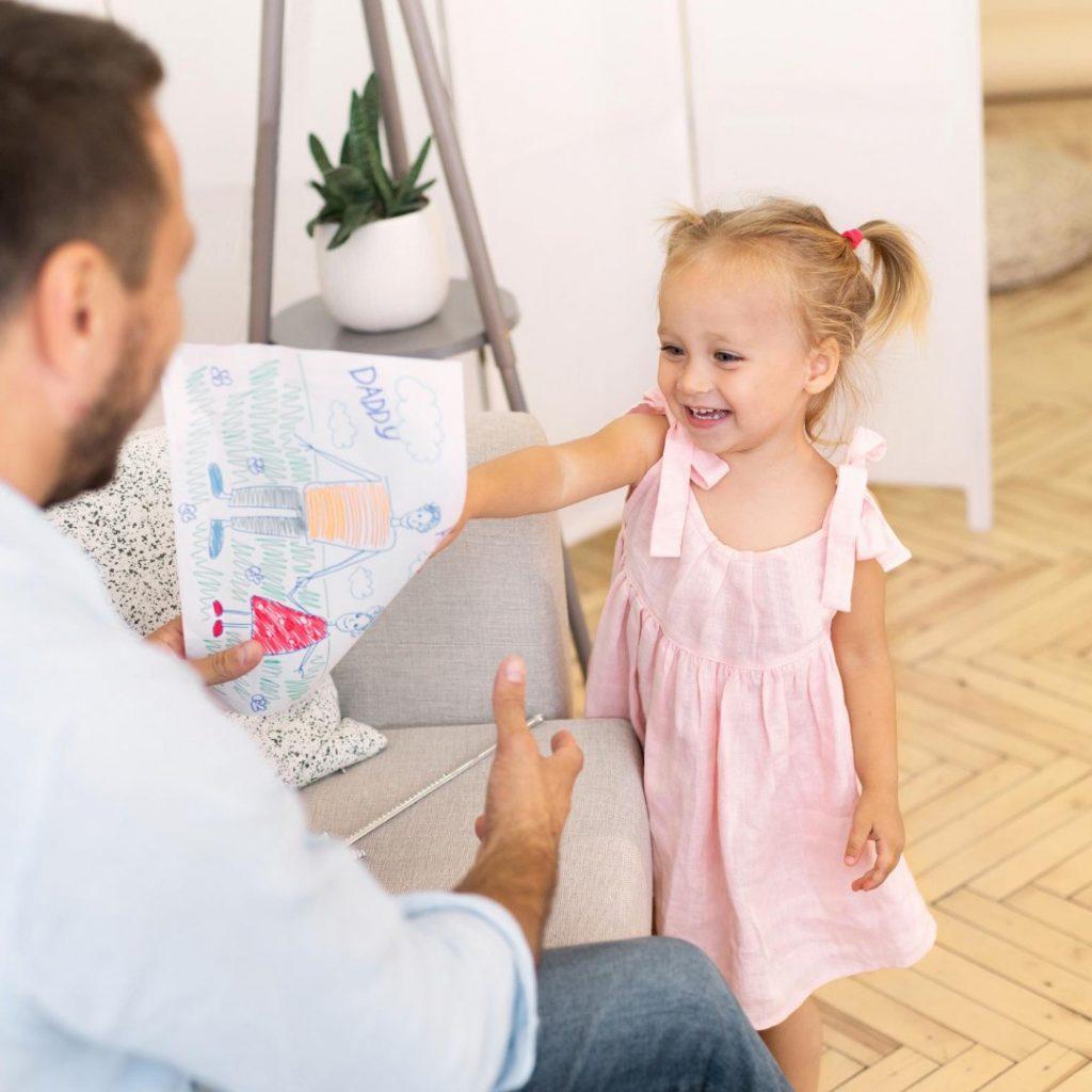 Kad se dete više obraduje tati (5)