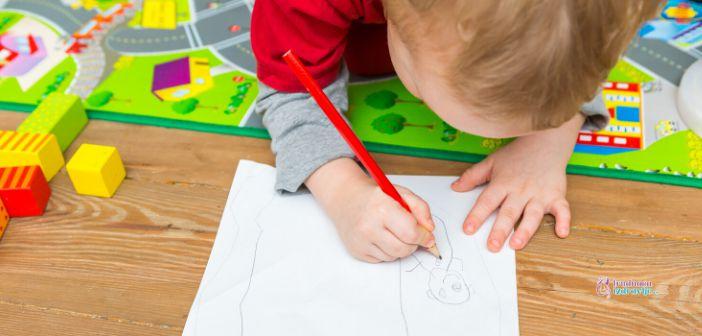 Razvoj grafomotorike kod male dece do 3. godine