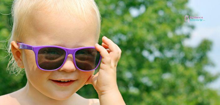 Savet oftamologa za zaštitu očiju od sunca dece u letnjem periodu