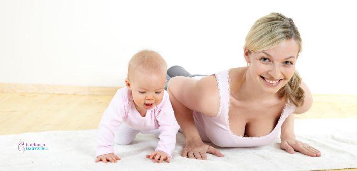 Vežbe za bolji psihomotorni razvoj bebe u prvoj godini