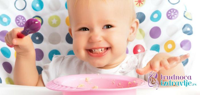 """Naš izbor: recept iz """"Bebinog prvog kuvara"""" kašica od muškatne bundeve, šargarepe, šljive i jabuke, koju možete pripremiti za svoju bebu!"""