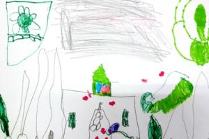 Rad četvorogodišnje Sofije Leontić