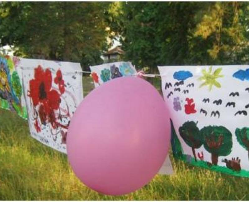 Izložba dečijih radova u prirodi JKL