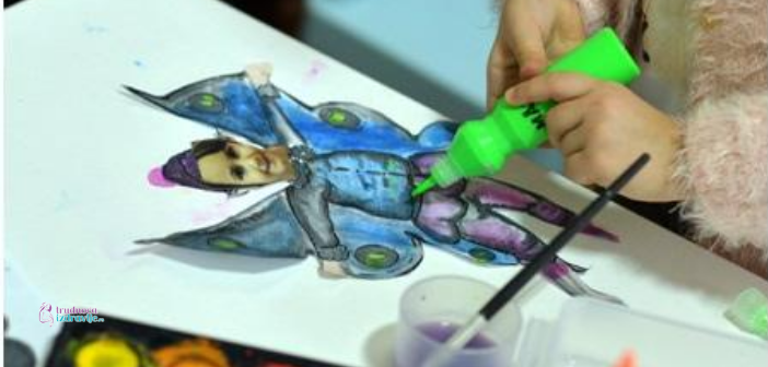 Kreativni rad roditelja sa decom, pravimo vilenjaka