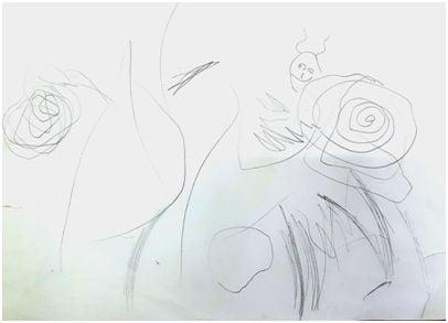 Dvogodišnja Doroteja Leontić crta neobična bića