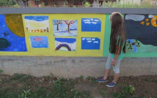 Dečiji radovi u Likovnoj koloniji Jalovik