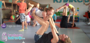 Yoga za decu je sjajno fizičko i mentalno vežbanje za decu.