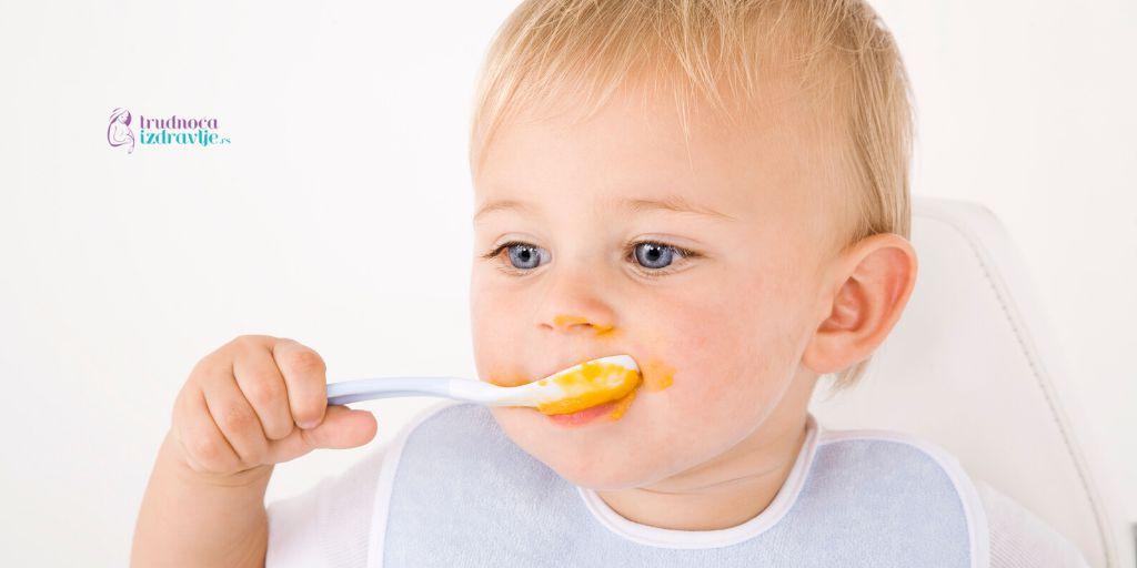 uvođenje mešovite ishrane kod beba i količina obroka