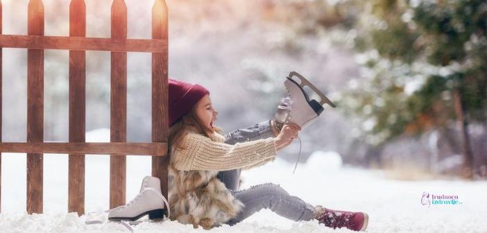 Zimski sportovi za malu decu