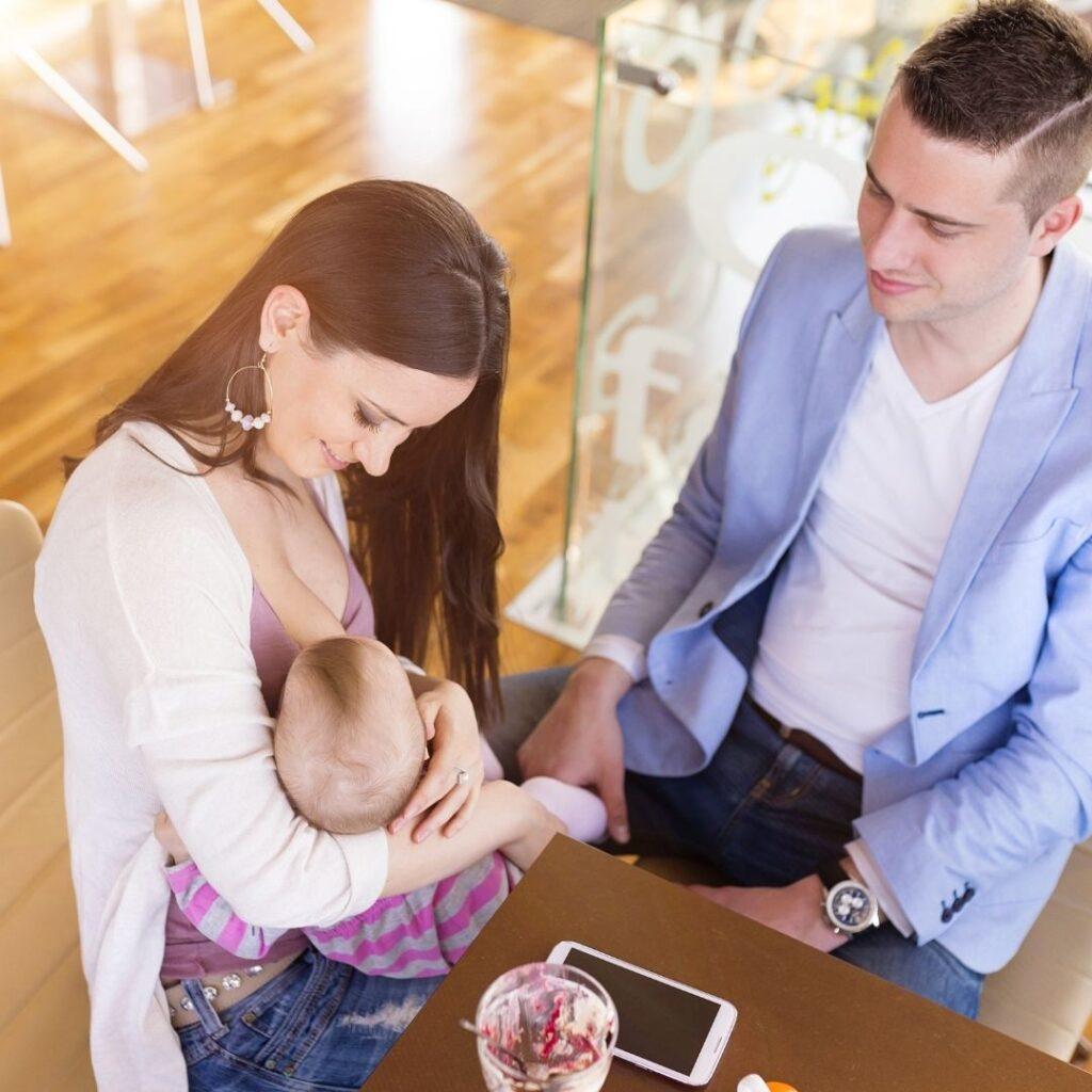 Važna je i Uloga Oca u Uspostavljanju Laktacije