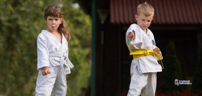 Karate i mala deca