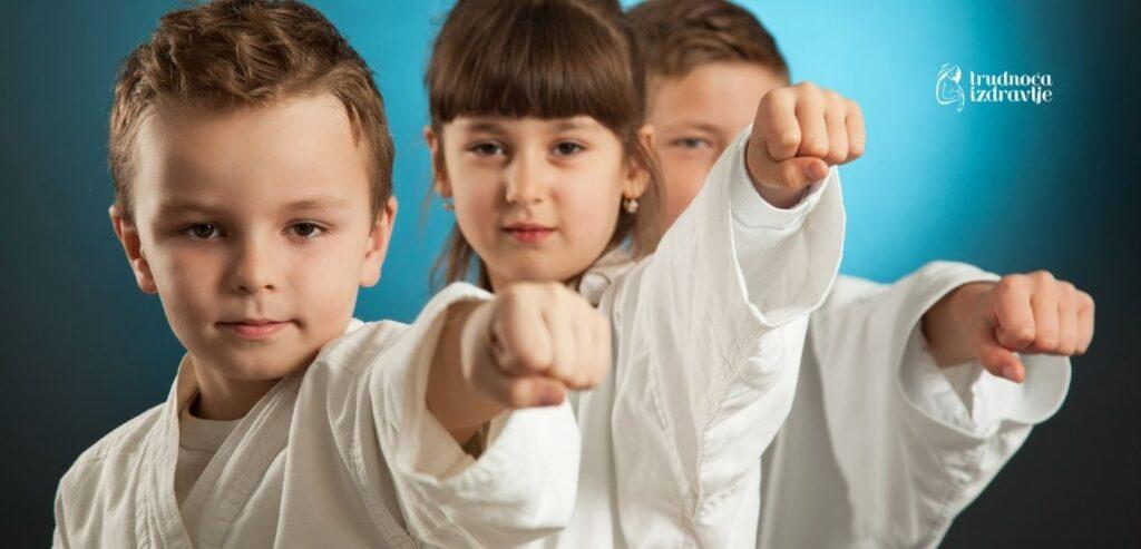 Karate, sport izbora za malu decu