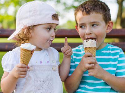 Sladoled je mali obrok