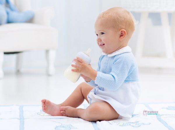 potrebe za mlekom u prvih 6 meseci bebe na adaptiranoj formuli