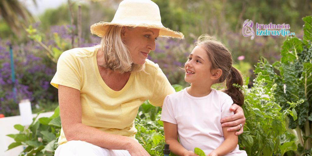 Uloga dobre bake u životu deteta.