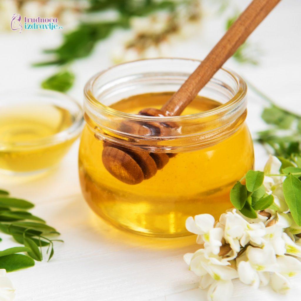 Med, propolis i mleč u trudnoći su potpora imunitetu, posebno u stanjima prehlade. (2)