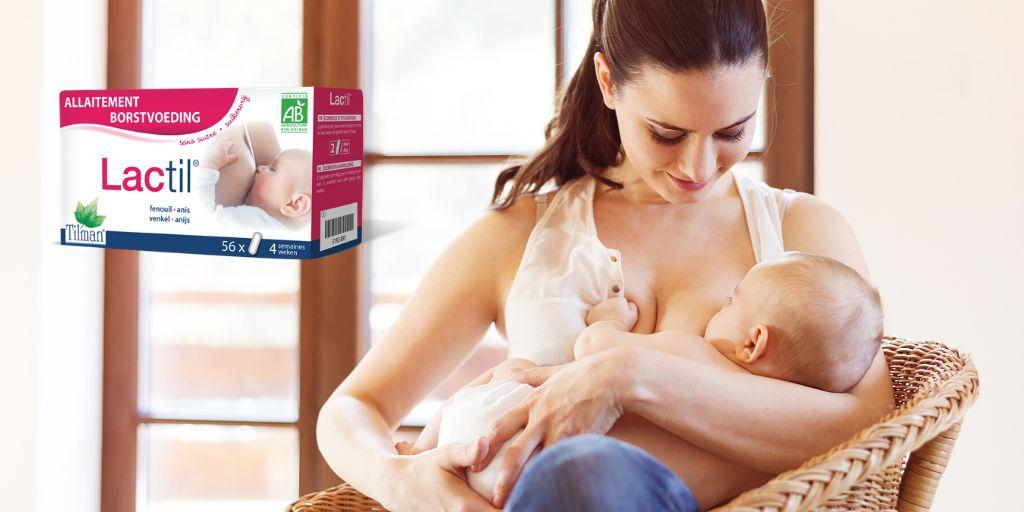 Lactil je podrška mamama koje doje bebe, za bolju laktaciju.