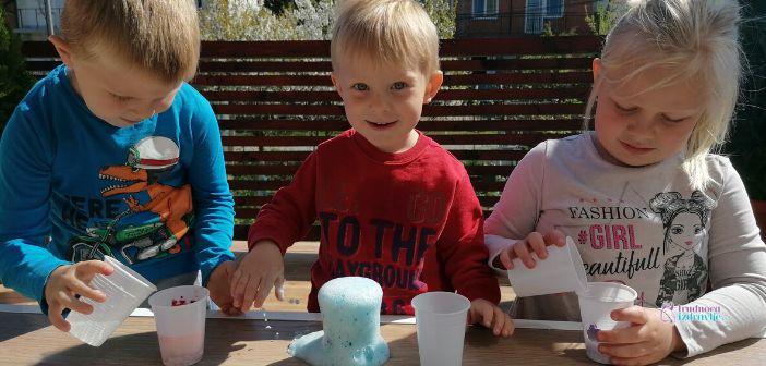 Zabavna i kreativna igra sa decom Vulkan