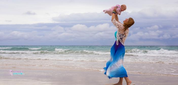 Mala beba do godinu dana na moru