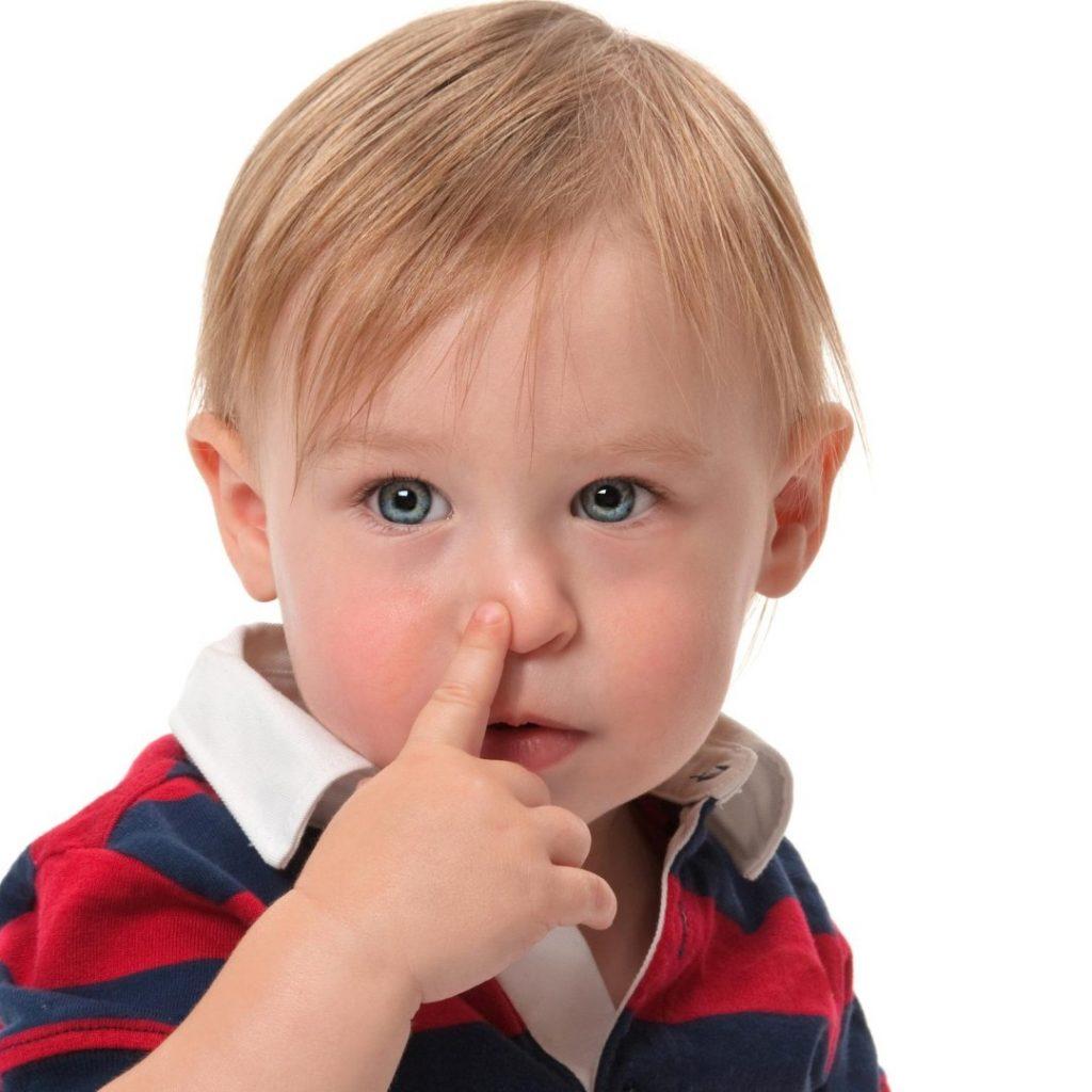 Zapušen nos kod malog deteta, strano telo u nosu (2)