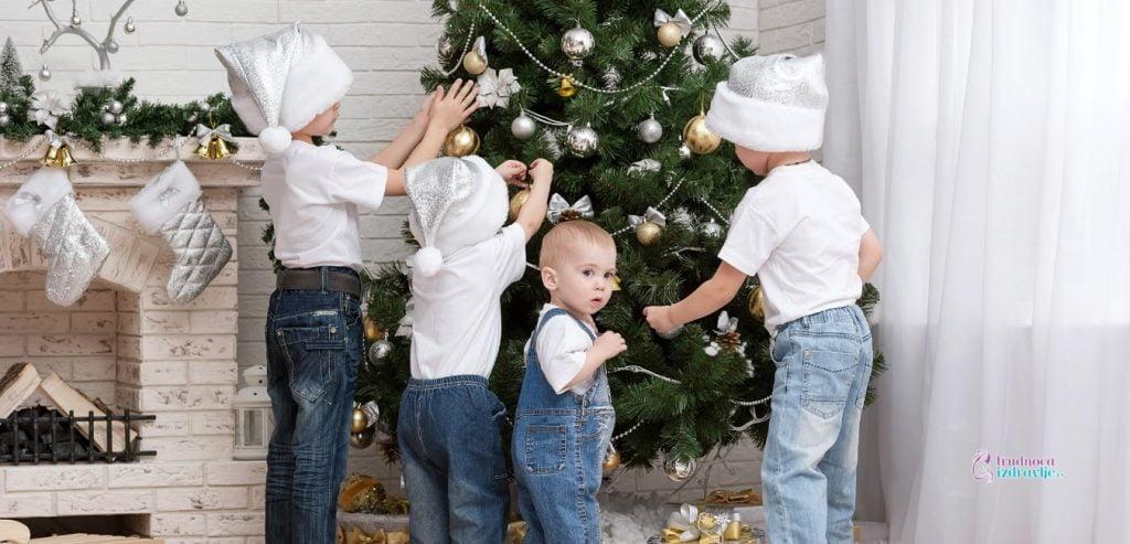Novogodišnje čarolije i kreativnost dece u izolaciji