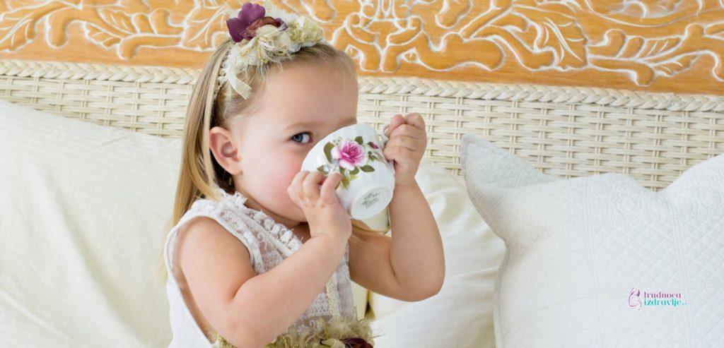 Primena biljnih čajeva kod dece