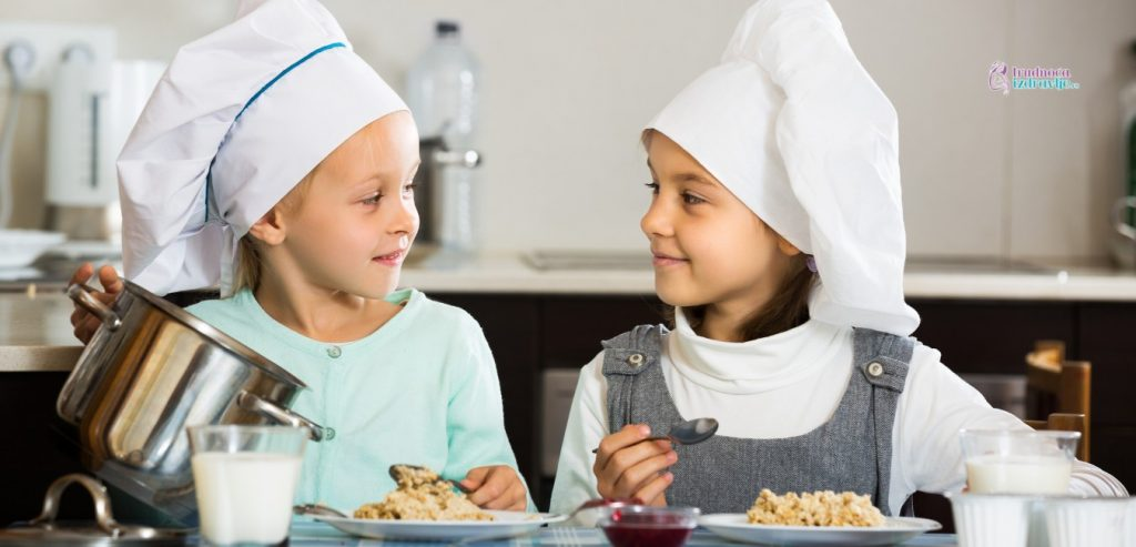 Užina za decu od prve do sedme godine, recepti