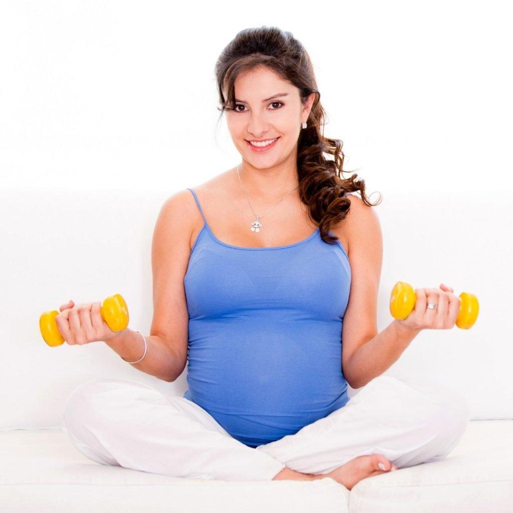 Vezbamo u trudnoci 4