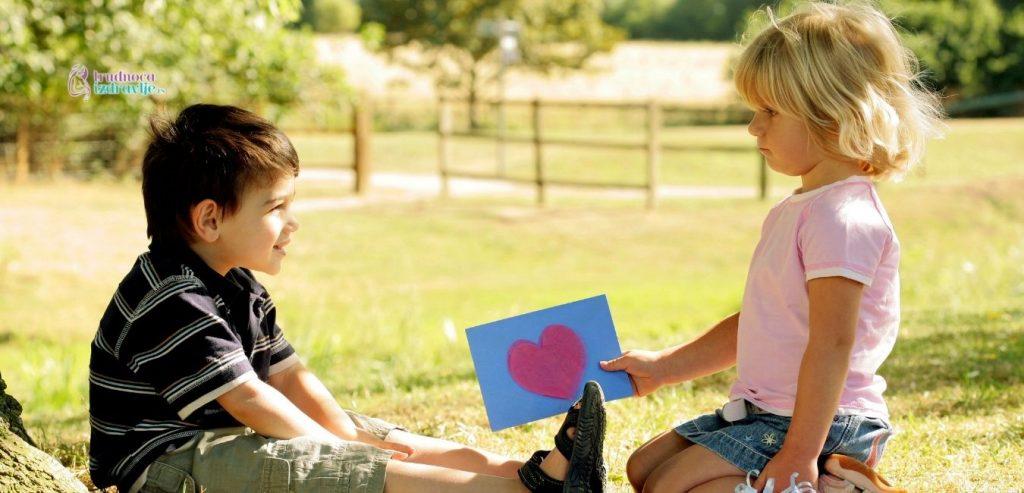 Zaljubljivanje dece u predškolskom uzrastu