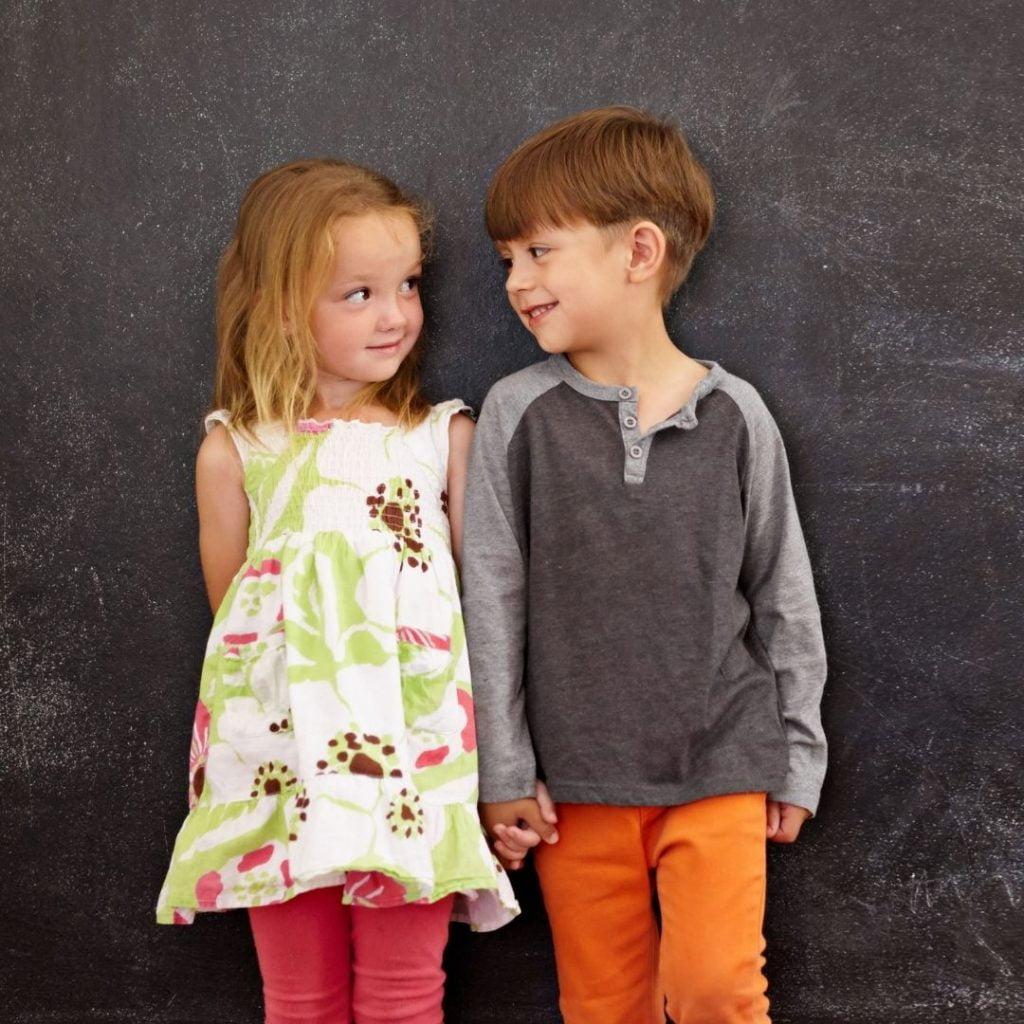 Zaljubljivanje dece u vrtiću