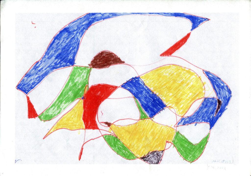 fraktalni crtez, art terapija za decu